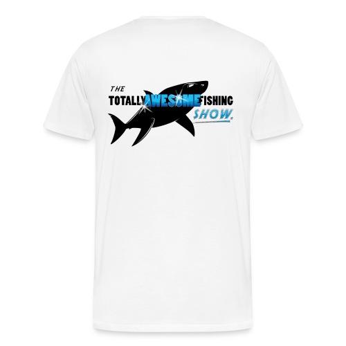Totally Awesome Fishing Show Men's T-Shirt - Men's Premium T-Shirt