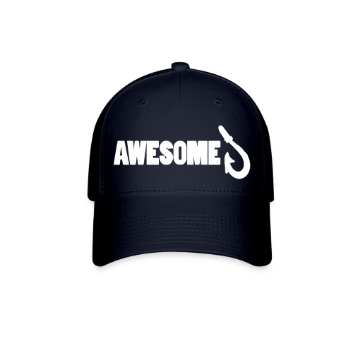 Totally Awesome Fishing Baseball Cap - Baseball Cap
