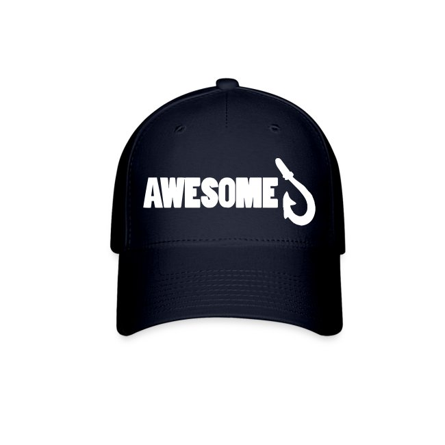 Totally Awesome Fishing Baseball Cap