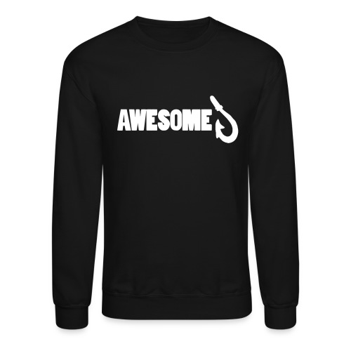 Totally Awesome Fishing Show Sweatshirt - Crewneck Sweatshirt
