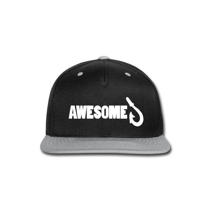 Awesome Snapback Cap - Snap-back Baseball Cap