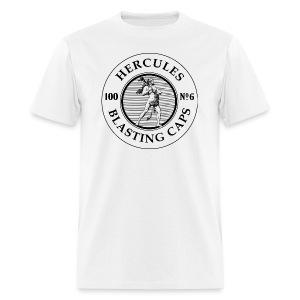 Hercules Blasting Cap Tin - Men's T-Shirt