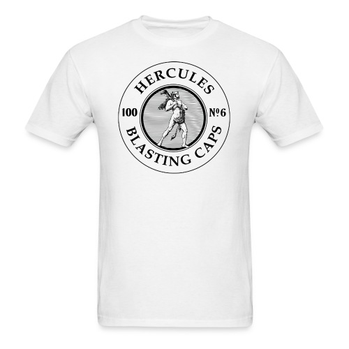 Hercules Blasting Cap Tin - Men's T-Shirt