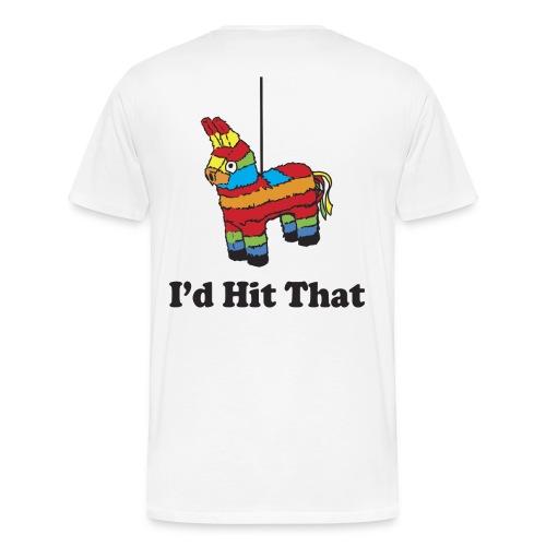 hit it - Men's Premium T-Shirt