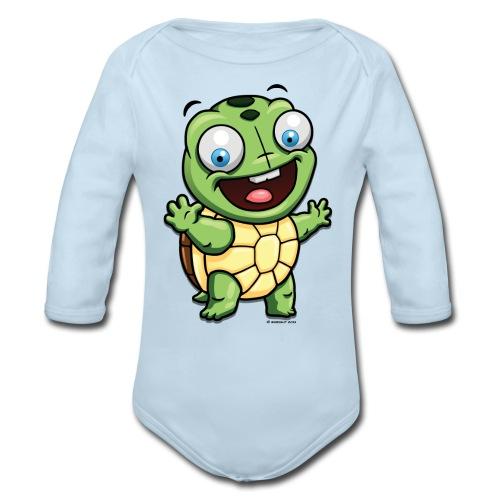 Baby Long Sleeve One Piece - Organic Long Sleeve Baby Bodysuit