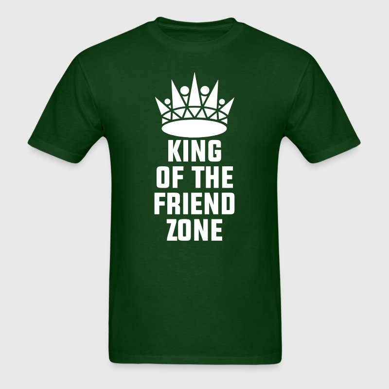 King of the Friend Zone T-Shirts - Men's T-Shirt