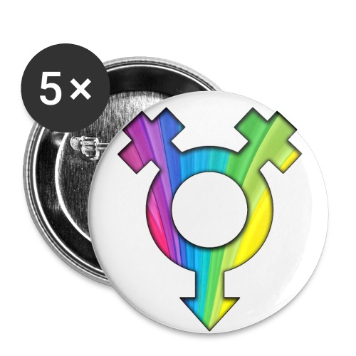 ONELOVE RAINBOW FEMALE - 56 mm (2,25)  - Buttons large 2.2'' (5-pack)