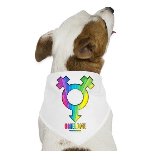ONELOVE RAINBOW FEMALE - front print - one size - Dog Bandana