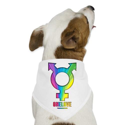 ONELOVE RAINBOW MALE - front print - one size - Dog Bandana