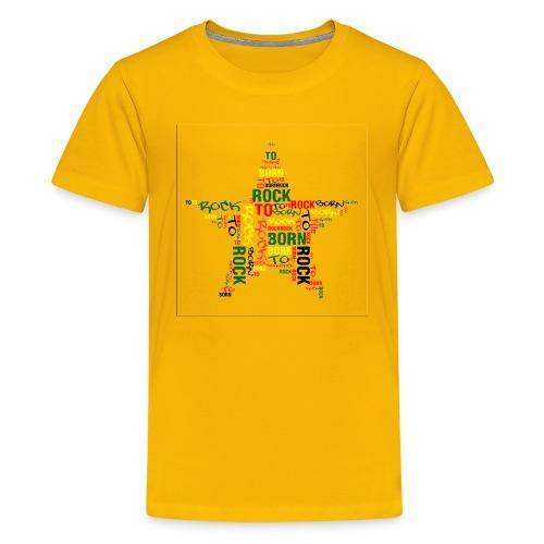 Born to Rock T-Shirt - Kids' Premium T-Shirt
