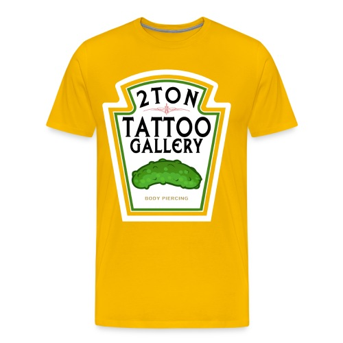 2Ton Spicy Mustard - Men's Premium T-Shirt
