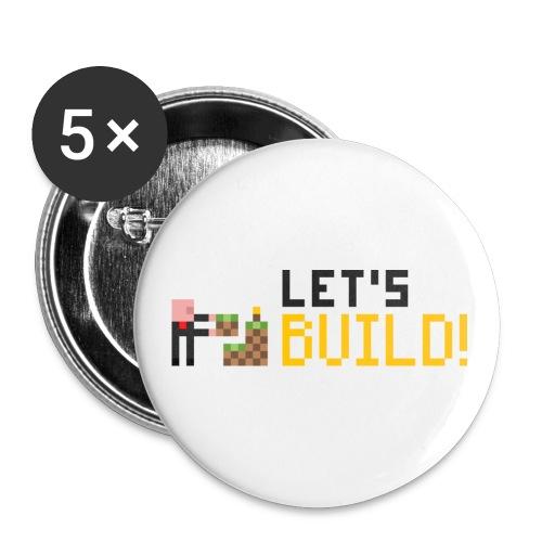 BUILD! Badges - Large Buttons