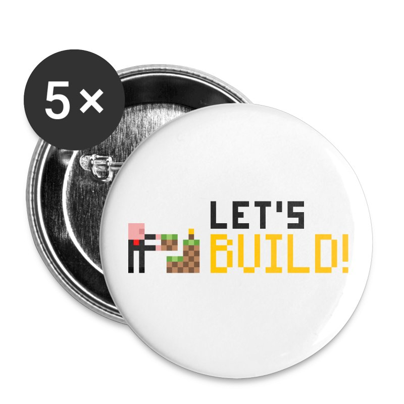 BUILD! Badges - Large Buttons