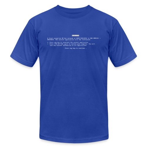 BSOD [m] - Men's  Jersey T-Shirt