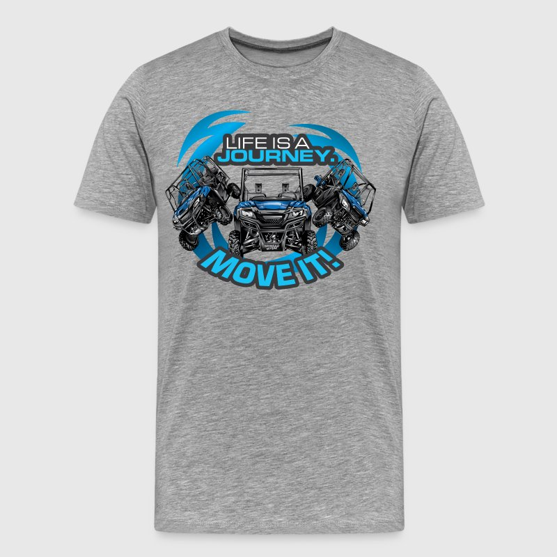 UTV SxS Move It Yamaha T-Shirts - Men's Premium T-Shirt