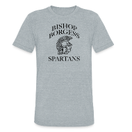 T-Shirts ~ Unisex Tri-Blend T-Shirt by American Apparel ~ Bishop Borgess