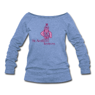 Long Sleeve Shirts ~ Women's Wideneck Sweatshirt ~ St Anthony