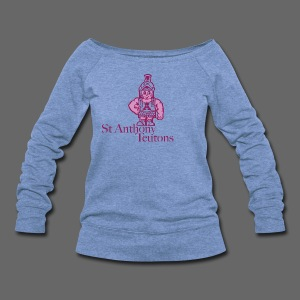 St Anthony - Women's Wideneck Sweatshirt