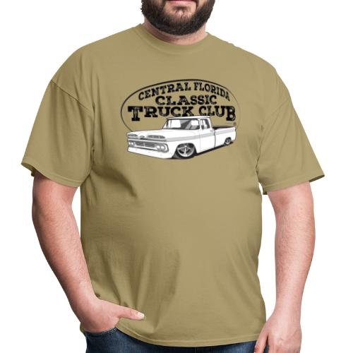 Central Florida Classic Truck Club Tee (Black graphic) - Men's T-Shirt