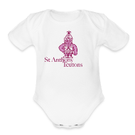 Baby & Toddler Shirts ~ Baby Short Sleeve One Piece ~ St Anthony