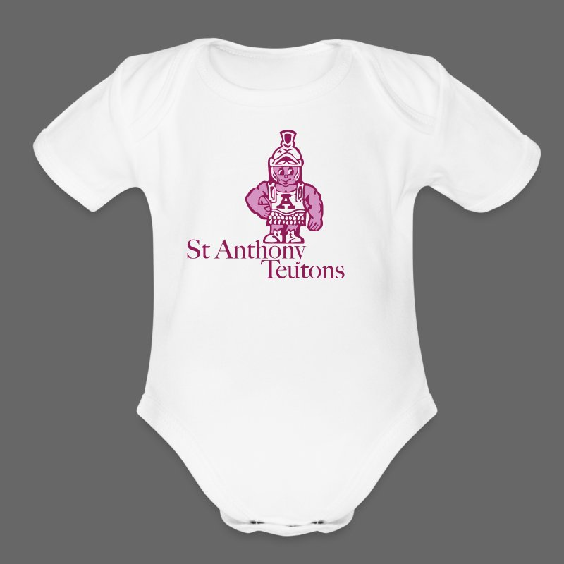 St Anthony - Short Sleeve Baby Bodysuit