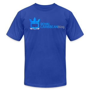 Men's Royal Caribbean Blog Shirt - Men's T-Shirt by American Apparel