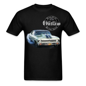 Men's Green Yenko Nova Back with signature Barefoot Ronnie front  - Men's T-Shirt