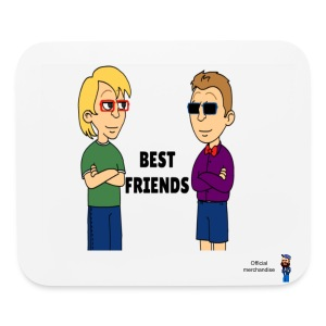 Eric and David Best friends mousepad - Mouse pad Horizontal