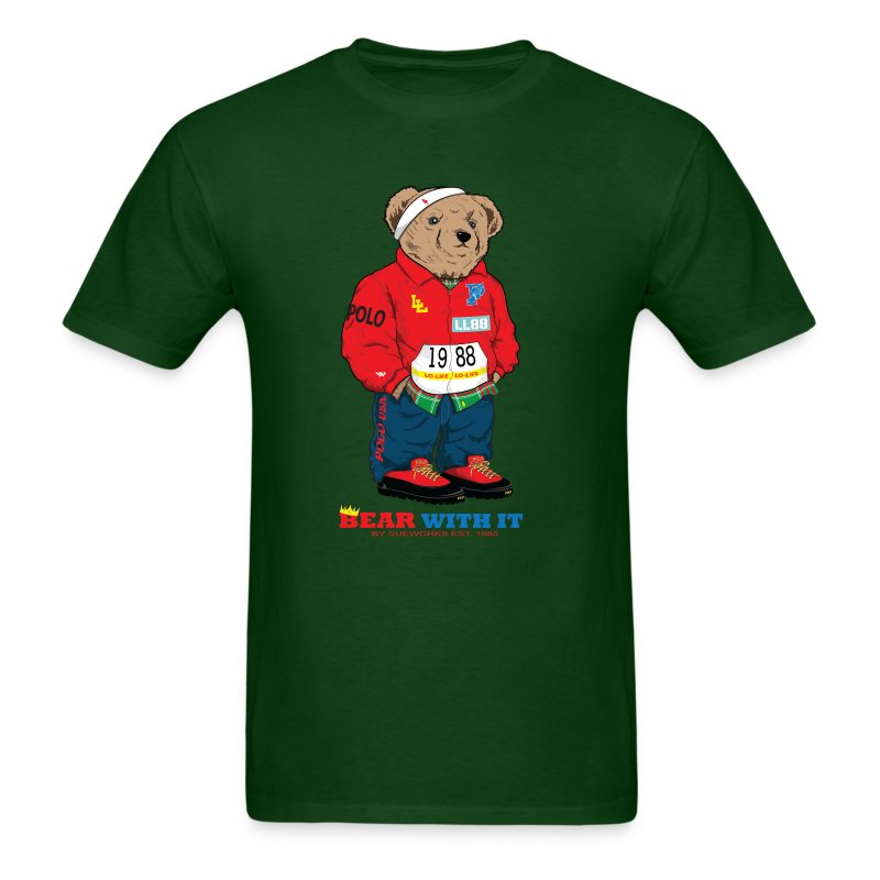 BEAR WITH IT - Men's T-Shirt