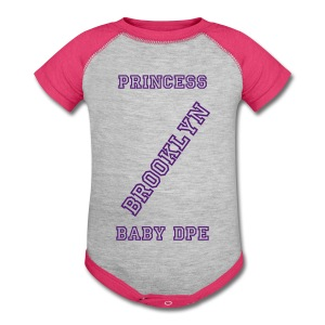 PRINCESS BKLYN BABY DPE - Baby Contrast One Piece