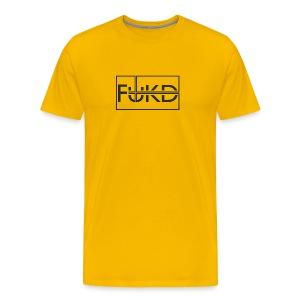 FUKD Original - Yellow - Men's Premium T-Shirt