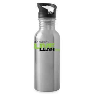 Live Lean Stainless Steel Water Bottle - Water Bottle