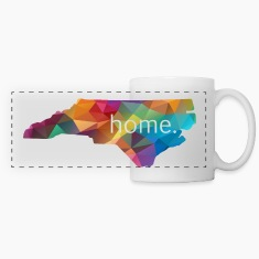 North Carolina Lowpoly HOME Coffee Mug