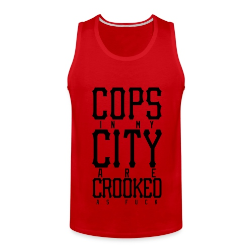 CROOKED - Men's Premium Tank
