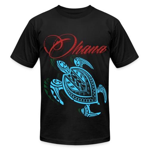 Ohana turtle AA - Men's Fine Jersey T-Shirt