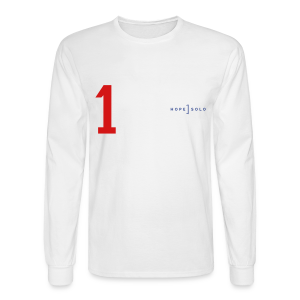 Hope #1 Red White Blue Jersey Long Sleeve Tee - Men's Long Sleeve T-Shirt