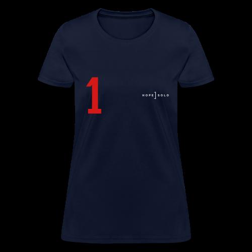 Hope #1 Red White Blue Jersey Tee - Women's T-Shirt