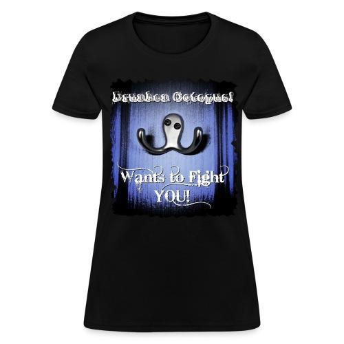 Drunken Octopus - Women's T-Shirt