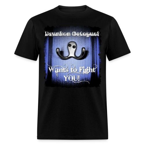 Drunken Octopus - Men's T-Shirt