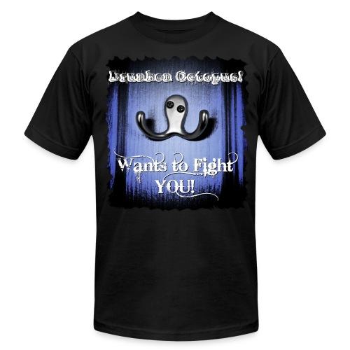 Drunken Octopus - Men's Fine Jersey T-Shirt