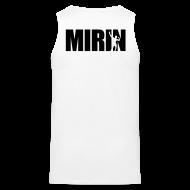 Tank Tops ~ Men's Premium Tank Top ~ Mirin (Back print)