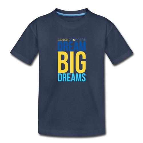 Dream Big Dreams Toddlers's Premium TShirt - Toddler Premium T-Shirt