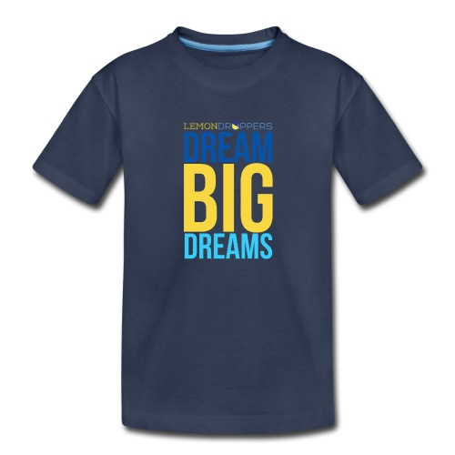 Dream Big Dreams Toddlers's Premium TShirt - Toddler Premium T-Shirt
