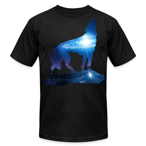 Star Wolf (Lucid Designs) - Men's Fine Jersey T-Shirt