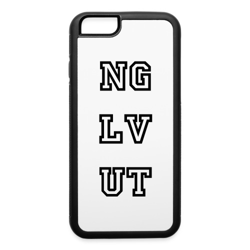 Black and White iPhone 6 Rubber Case - iPhone 6/6s Rubber Case