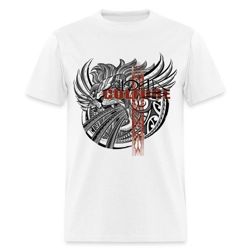 Alpha Lion with Alpha Culture Cross gildan - Men's T-Shirt