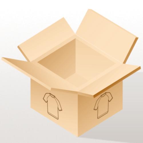 Men & Women's Polo- Back & sleeve logo, name (Black Glitz) - Men's Polo Shirt