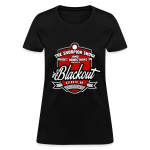 Blackout - Women's T-Shirt