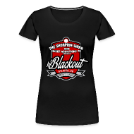 Women's T-Shirts ~ Women's Premium T-Shirt ~ Blackout
