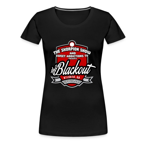 Blackout - Women's Premium T-Shirt